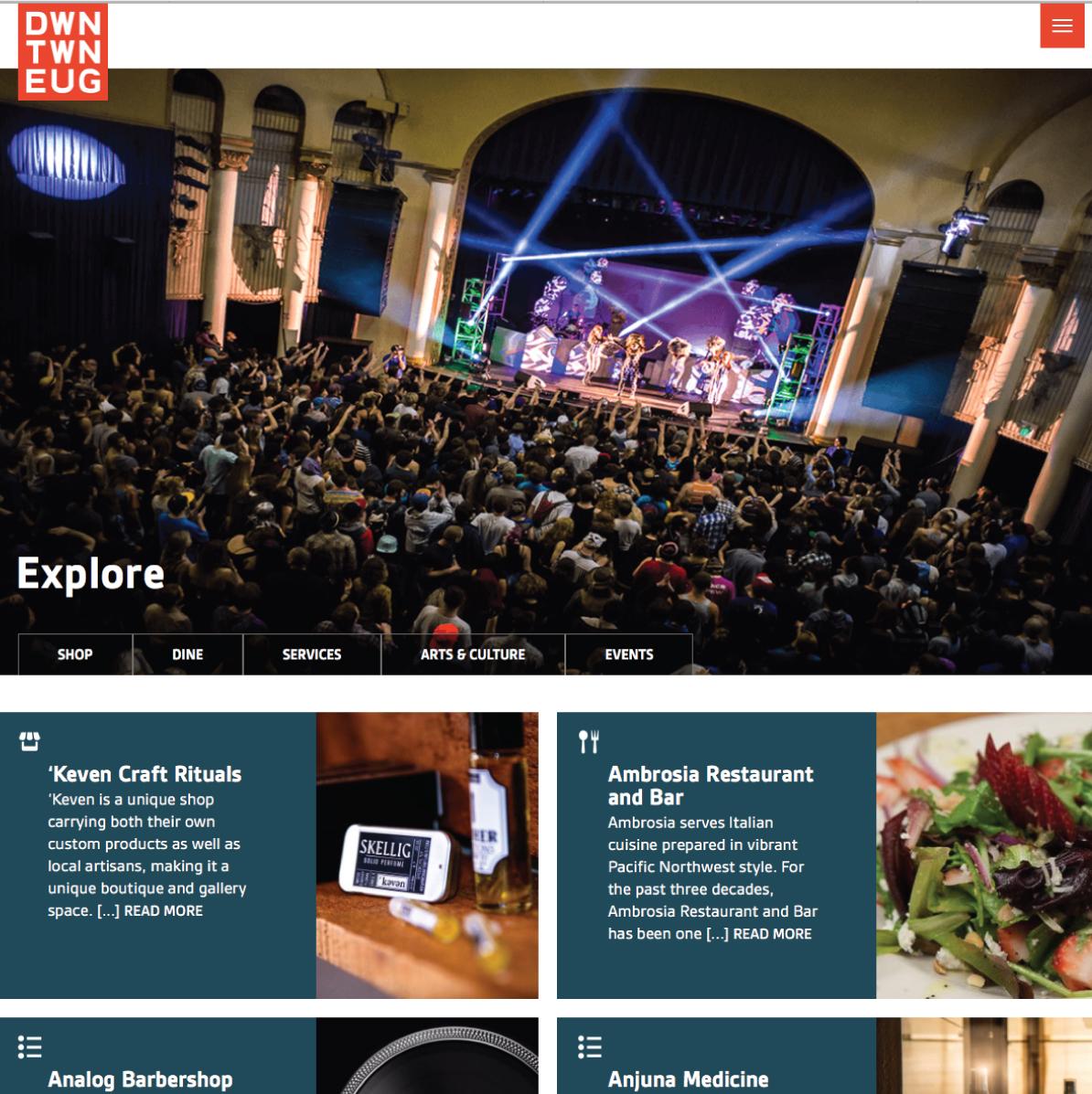 web design for DEI