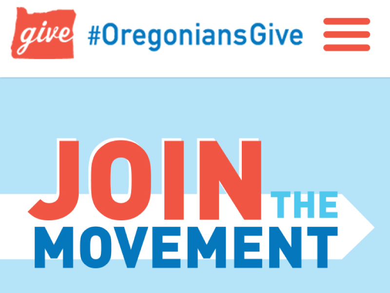 graphic design for oregoniansgive