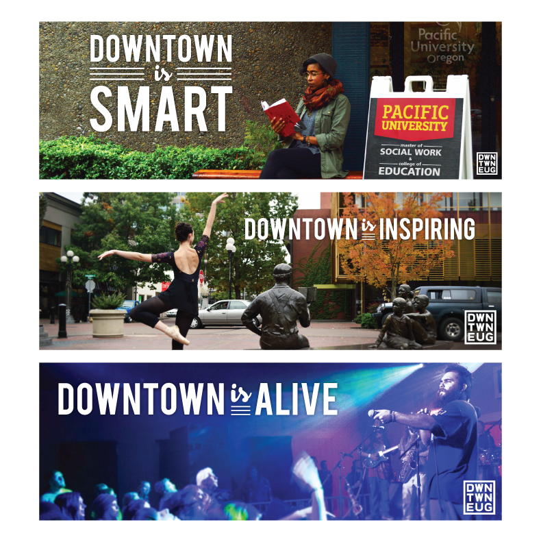 Downtown is Smart, Inspiring, Alive, etc